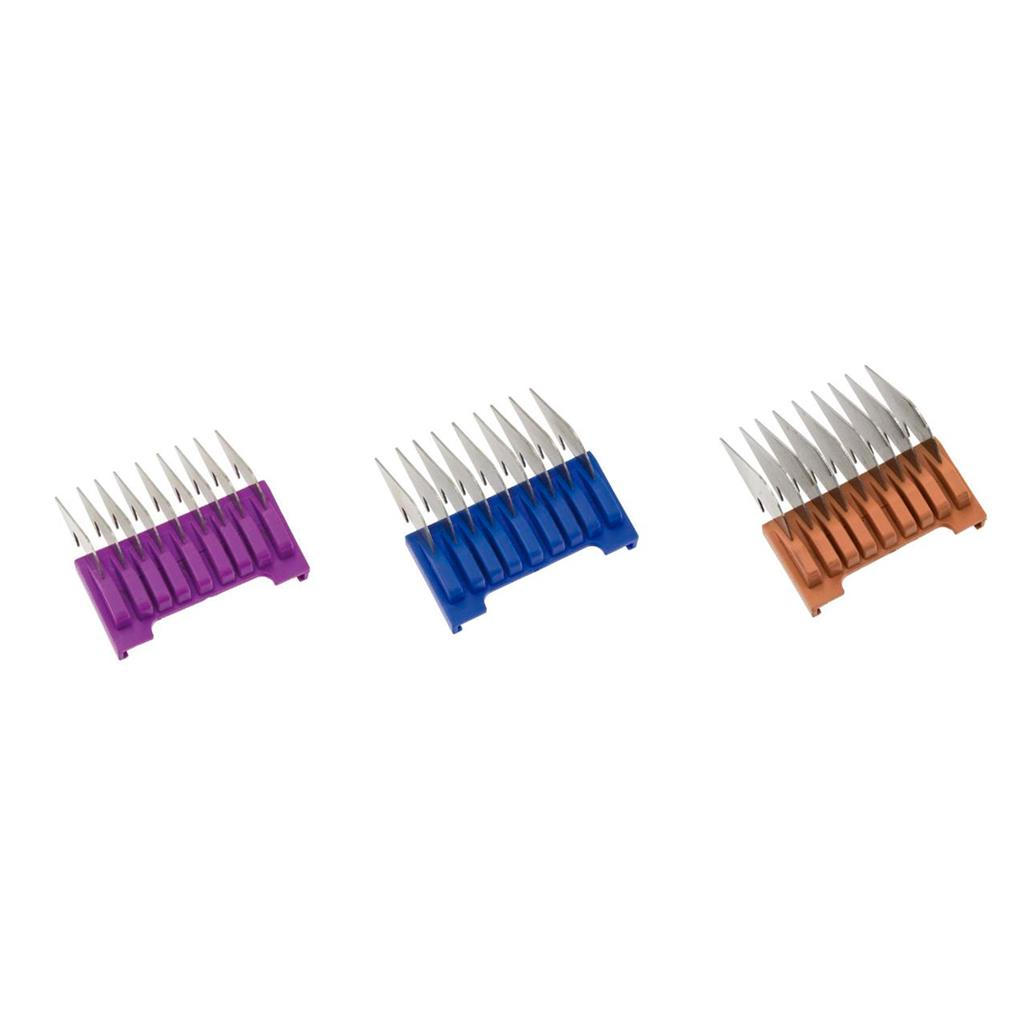 Slide-on attachment comb set