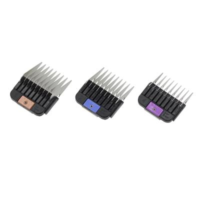 Nap-on attachment comb set